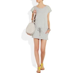 NWT Karl Lagerfeld Cotton Jersey Jawstring Dress